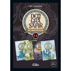 Den Grå Safir 1-4 - samlebind
