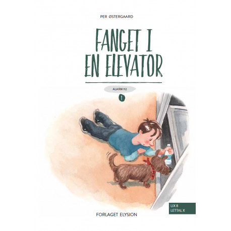 Fanget i en elevator