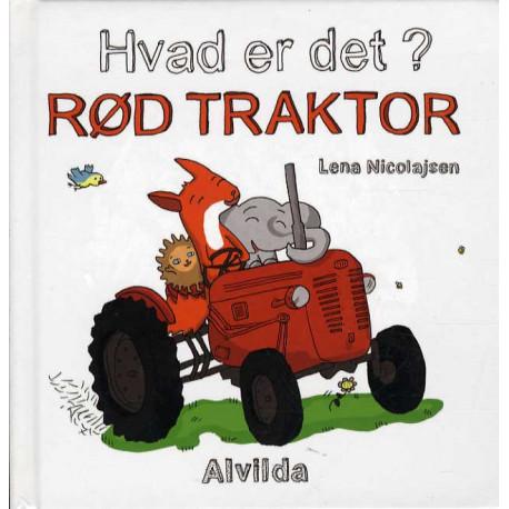 Hvad er det? Rød traktor (sæt á 3 stk. Pris pr. stk. 49,95)
