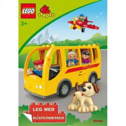 LEGO DUPLO - Bussen - Sjov med klistermærker (sæt a 3 stk. Pris pr. stk. 39,95)