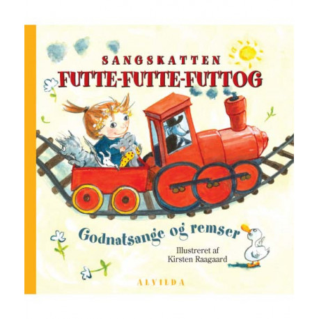 Sangskatten - Futte-futte-futtog (sæt á 3 stk. pris pr. stk. 49,95): Godnatsange og remser