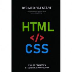 Hjemmesiden i html og css