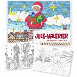 Jule-malerier: en hyggelig jule-malebog