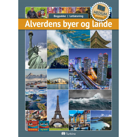 Alverdens byer og lande (MEDIUM 20 bøger): vejl. pris 3119kr. Pakkepris 2339kr - spar 25%