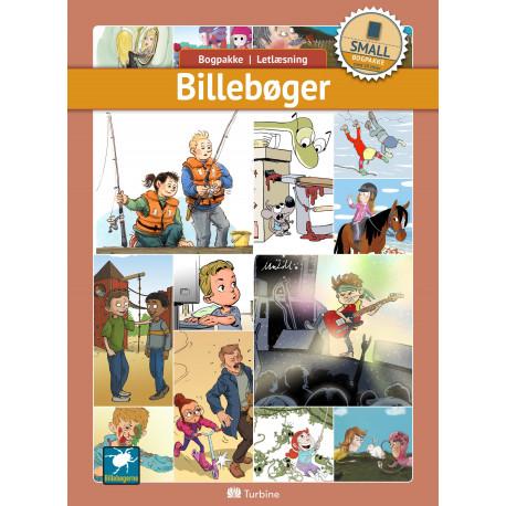 Billebøger (SMALL 10 bøger): vejl. pris 1789,50kr. Pakkepris 1431kr - spar 20%