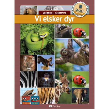 Vi elsker dyr (SMALL 10 bøger): vejl. pris 1399,50kr. Pakkepris 1119kr - spar 20%