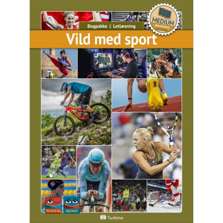 Vild med sport (MEDIUM 20 bøger): vejl. pris 3559kr. Pakkepris 2669kr - spar 25%