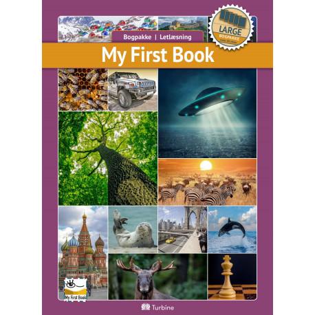 My first book (LARGE 25 bøger): vejl. pris 3498,75kr. Pakkepris 2449kr - spar 30%