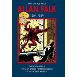 Allan Falk 1994-1996: Terrormasken, Hvem er bange for Hitchcock?, En million skattefrit