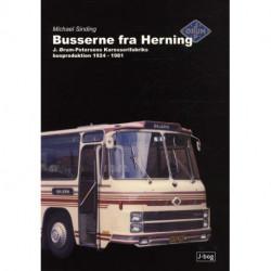 Busserne fra Herning: J. Ørum-Petersens Karosserifabriks busproduktion 1924-1981