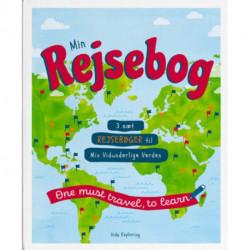 Min Rejsebog: 3 sæt rejsebøger til Min Vidunderlige Verden