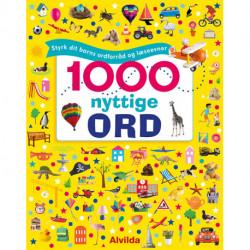 1000 nyttige ord - Styrk dit barns ordforråd og læseevner