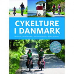 Cykelture i Danmark: 84 cykelture af forskellig længde - lige fra korte dagsture til længere flerdagsture