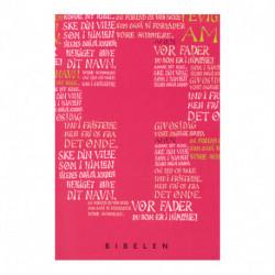 Konfirmandbibel, pink/rød udgave