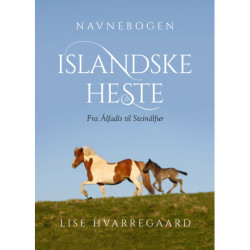 Navnebogen Islandske heste: Fra Álfadís til Steinálfur