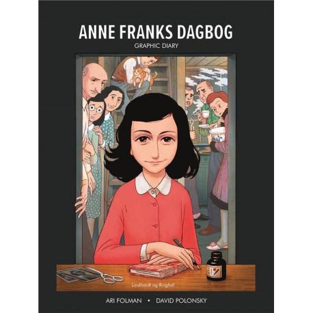Anne Franks Dagbog graphic novel