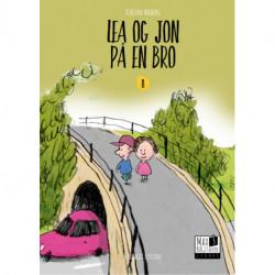 Lea og Jon på en bro