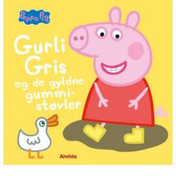 Peppa Pig - Gurli Gris og de gyldne gummistøvler