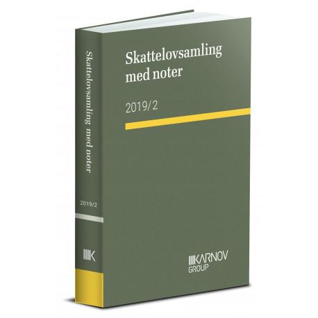Skattelovsamling med noter 2019/2: Må KUN sælges til studerende
