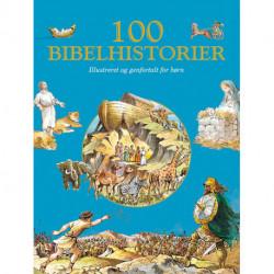 100 Bibelhistorier: Illustreret og genfortalt for børn