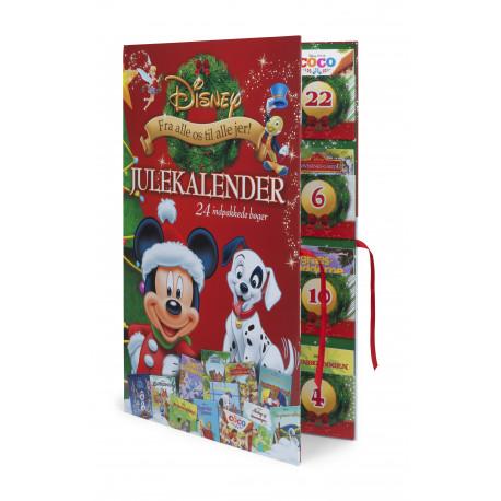 Disney Julekalender: Julekalender med 24 indpakkede Disney bøger