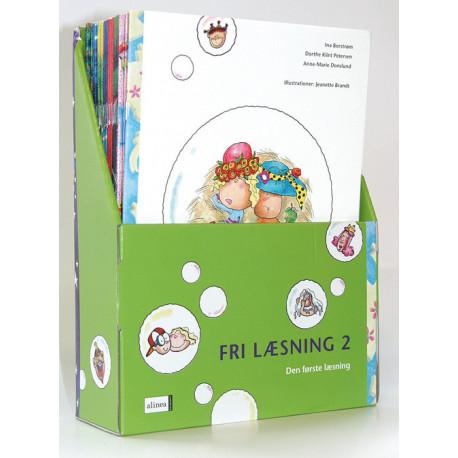 Den første læsning, 2.kl. Fri læsning, Sampak med 24 bøger