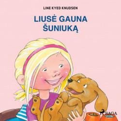 Liusė gauna šuniuką