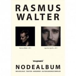 Rasmus Walter - nodealbum: Melodilinje, tekster, akkorder og guitar akkordsymboler