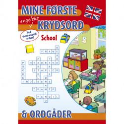 Mine første engelske krydsord og ordgåder: School