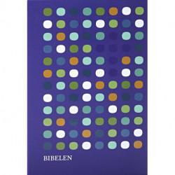 Bibelen med Det Gamle Testamentes apokryfe bøger - mellemformat: hardback med mønster