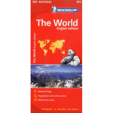 The World, Michelin National Map 701