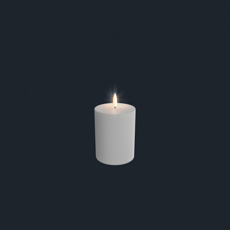 Bloklys (Nordic White - 7,8 x 12,9 CM)