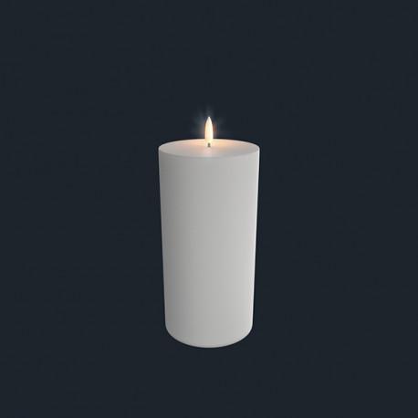 Bloklys (Nordic White - 10,1 x 20,3 CM)