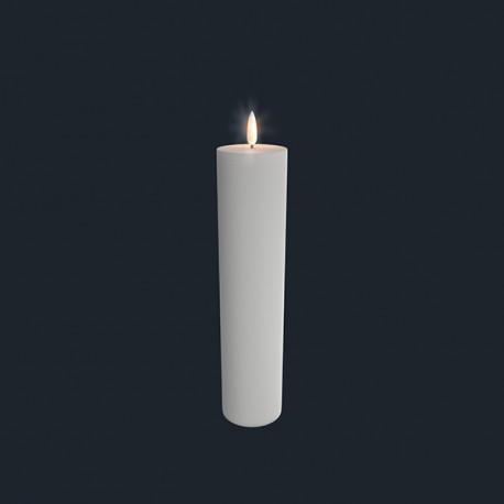 Bloklys (Nordic White - 6 x 25 CM)