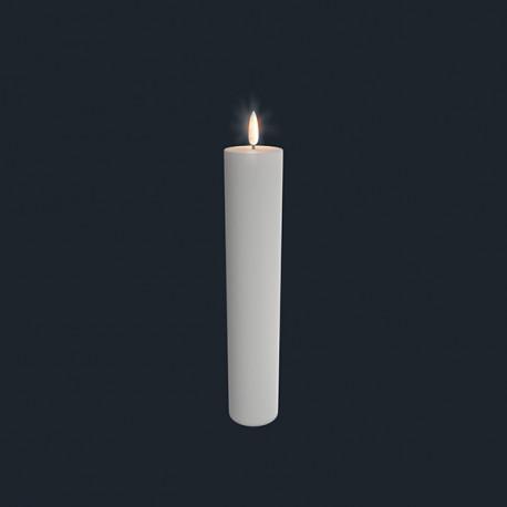 Bloklys (Nordic White - 5 x 25 CM)