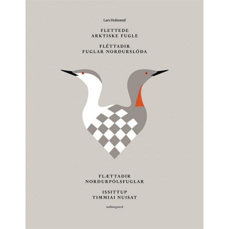 Flettede arktiske fugle: 26 flettede fugle i papir