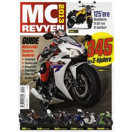 MC Revyen: totalt overblik (2013 (40. årgang))