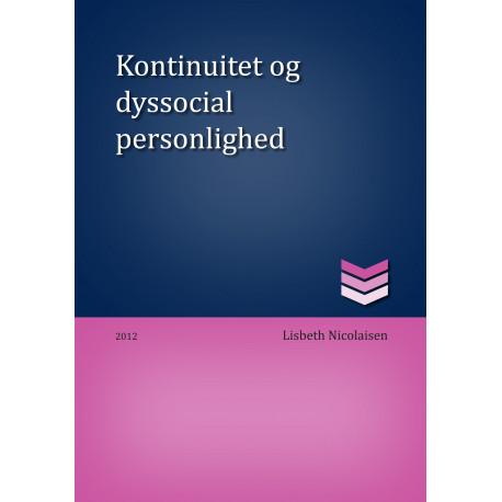 Kontinuitet og dyssocial personlighed