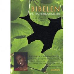 Bibelen på hverdagsdansk, lomme, sort skind m/ lynlås