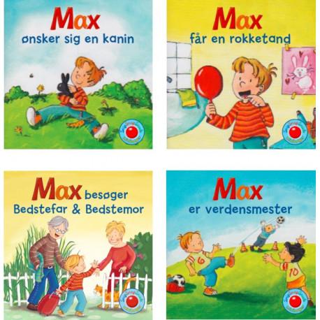Snip Snap Snude: Max 1-4 (æske med 48 stk. ass. - pris pr. stk. ca. kr. 11,95: Snip Snap Snude serie 15