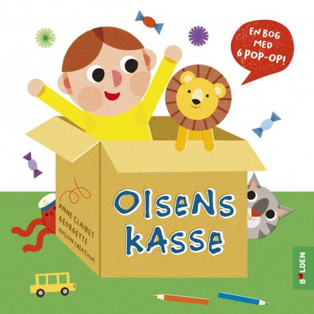 Olsens kasse: en bog med 6 pop-op!