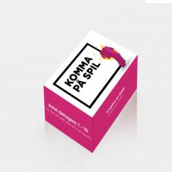Komma på spil: Kortspil om at sætte komma