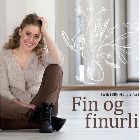 Fin og finurlig: Strik i Silk Mohair fra Isager