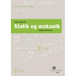 Find formlen - statik og mekanik: Formelsamling