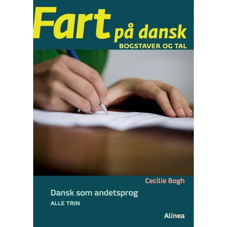 Fart på dansk, Bogstaver og tal