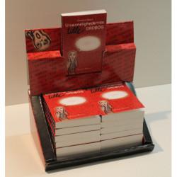 Unævnelighedernes lille ordbog / Display med 16 stk bøger: En angstprovokerende ordbog om de tilstande vi kollektivt forsøger at fortrænge.