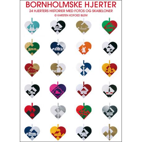 Bornholmske Hjerter: 24 hjerters historie med fotos og skabeloner