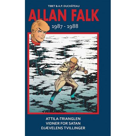 Allan Falk 1987-1988: Attila-trianglen, Vidnet for Satan, Djævlens tvillinger