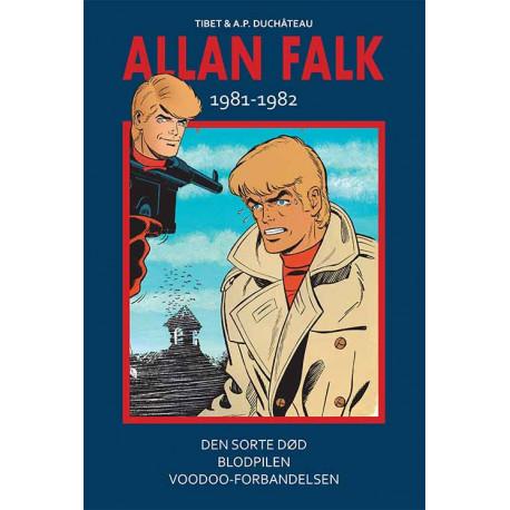 Allan Falk 1981-1982: Den sorte død - Blodpilen - Voodoo-forbandelsen