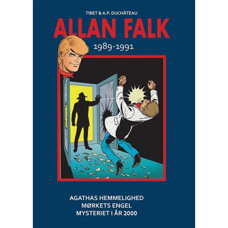 Allan Falk 1989-1991: Agathas hemmelighed, Mørkets engel, Mysteriet i år 2000